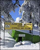 Cyprus Ski Federation in Troodos