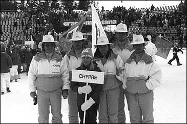 Participation of Cyprus in Crans Montana championship
